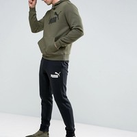 Puma ESS No.1 Joggers In Black 83826401 at asos.com