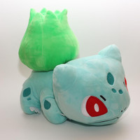 30CM 12inch Pokemon Bulbasaur plush toy dolls Bulbasaur Soft Stuffed Toy free shipping
