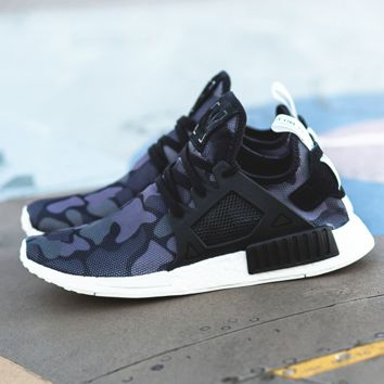 """Adidas"" NMD XR1 Duck Camo Women Men Running Sport Casual Shoes Sneakers Camouflage purple"