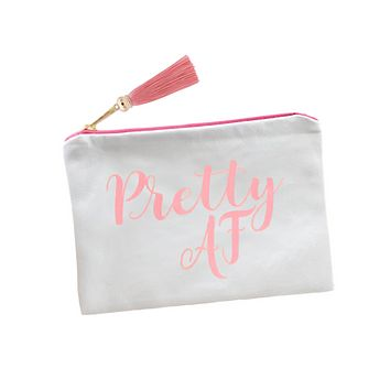 PRETTY AF MAKEUP BAG