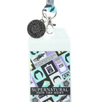 Supernatural Icons Lanyard