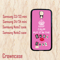 Samsung S3 mini,Samsung S4 mini,Samsung Galaxy S4,Samsung Galaxy S3,Samsung Galaxy Note 2,Samsung Galaxy Note 3--keep calm case,in plastic.