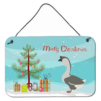 African Goose Christmas Wall or Door Hanging Prints BB9266DS812