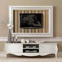 Low multi-layer wood TV cabinet GLAMOUR Glamour Collection by Gotha Luxury Italian Style