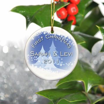 Holiday Ornaments - Snow Scapes