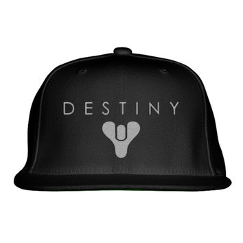 Destiny Embroidered Snapback Hat