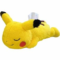 Pikachu Pokemon Fluffy Tissue Case
