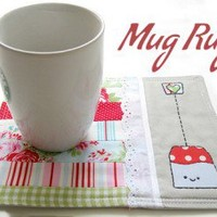 Tea Time Mug Rug Pattern | Los Angeles Needlework