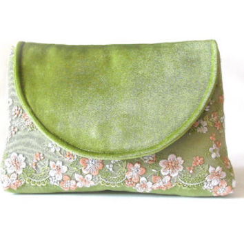 Tender green Bridal Clutch, Bridesmaid Gift, Party Clutch, Wedding Clutch, Bridal Shower Gift, Mother Of The Bride Gift,evening clutch purse