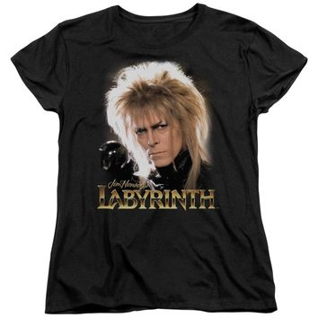 Labyrinth - Jareth Short Sleeve Women's Tee Shirt Officially Licensed T-Shirt