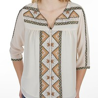 MM Couture By Miss Me Peasant Shirt