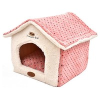 New Maccaron Spots Cute Removable Cover Mat Dog House Dog Beds For Small Medium Dogs Pet Products House Pet Beds for Cat