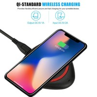 CARPRIE  New Hot  Wireless Charger Qi Wireless Power Charger Charging Pad For iPhone 8/8 Plus/X quick charger portable charger