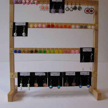 Craft Show earring display stand.