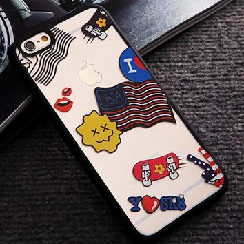 Limited Edition USA Flag iPhone 5s 6 6s Plus Case Cover Gift-116-170928