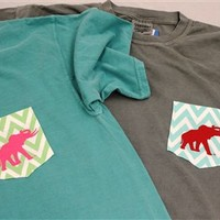 CHEVRON POCKET SHORT SLEEVE T-SHIRTS
