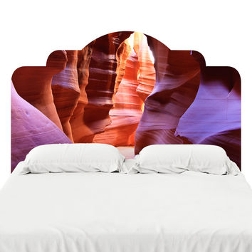 Antelope Canyon Headboard Decal