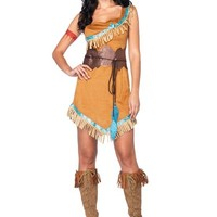 Womens Disney Pocahontas Costume
