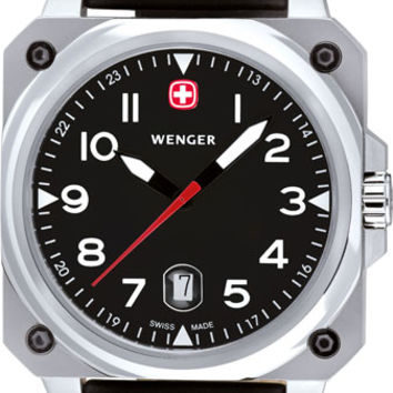 Wenger Men's Swiss Made AeroGraph Cockpit Watch 72425