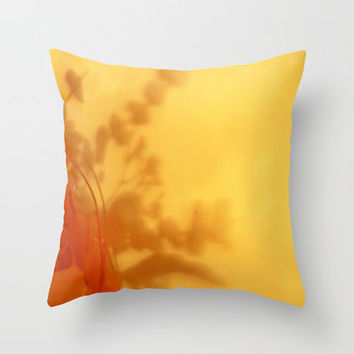 Summer Throw Pillow by Stacy Frett