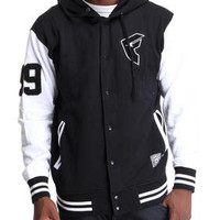 Top 99 Snap Up Fleece Jacket by Famous Stars & Straps