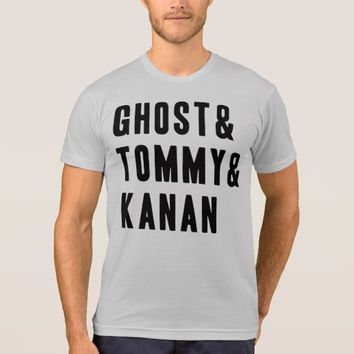Ghost Tommy Kanan Funny T Shirt
