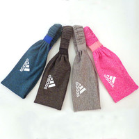 Adidas Women Casual Yoga Sports Running Sweatband Headband