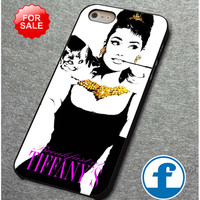 audrey hepburn tiffany breakfast  for iphone, ipod, samsung galaxy, HTC and Nexus PHONE CASE