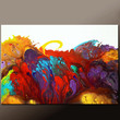 Abstract Canvas Art Painting 36x24 Original Contemporary Paintings by Destiny Womack - dWo - Escaping Reality