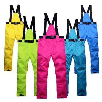 skiing snow pants women snowboard mens winter pants snowboard bib girls winter overalls pants size snow waterproof
