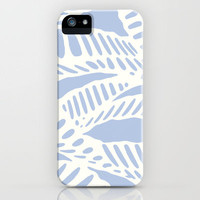 Azul Pastel Al Peas iPhone Case by Eileen Paulino | Society6