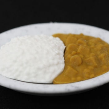 Curry Plate Eraser