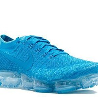 Nike Mens Air Vapormax Flyknit Blue Orbit/blue Orbit Woven
