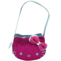Handbag - Hello Kitty - Pink Die Cut PVC Head