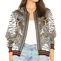 Camilla Bomber Jacket in The Bodyguard