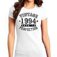 1994 - Vintage Birth Year Juniors T-Shirt