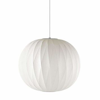 Inspired By George Nelson Bubble Ball Criss Cross Pendant Lamp