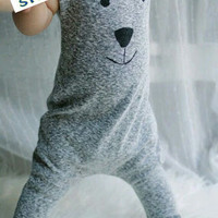 Bear rompers babys