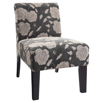 You should see this Deco Rose Slipper Chair in Grey on Daily Sales!