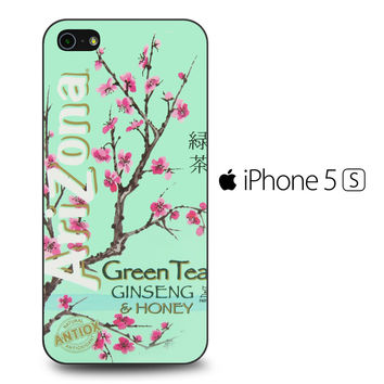 Arizona Green Tea SoftDrink iPhone 5S Case