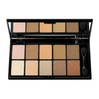 NYX Cosmetics Eye Shadow Palette 10 Color, Catwalk, 0.49-Ounce