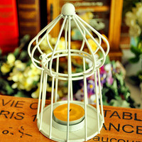 Iron Gifts Home Creative Romantic Candle Stand = 5893942657