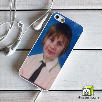 5 Sos Fetus Michael Clifford iPhone 5|5S Case by Avallen