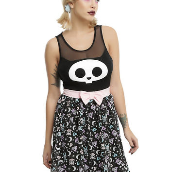 Skelanimals Kit Bow Front Dress