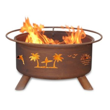 Pacific Coast Steel Fire Pit by Patina Products