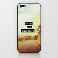 Adventure iPhone & iPod Skin by M Studio