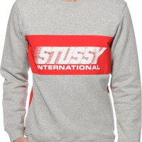 Stussy Cycle Crew Neck Sweatshirt