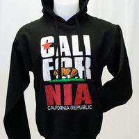 California Republic Sweatshirt Cali-For-Nia Hoodie