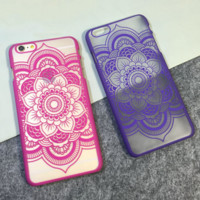 """Beautiful Floral Mandala Flower iPhone Case/Cover For iPhone 5 5s 6 4.7"""" 6plus 5.5"""""""