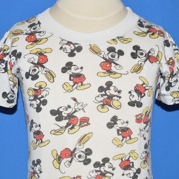 60s Mickey Mouse All Over Print Disney t-shirt 2T